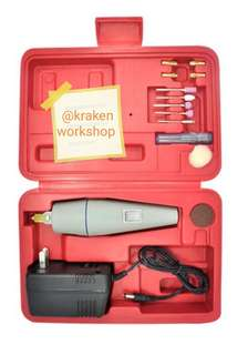 Mini hobby electric drill Grinder and Spare Parts