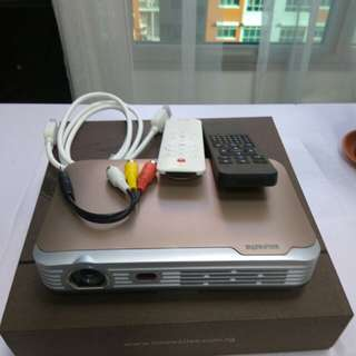 Mobile Theater Projector With Android Innovative DS8 Wireless Definition