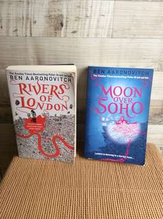 Rivers of London and Moon over Soho - Ben Aaronovitch