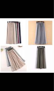 Stripes NAVY pants