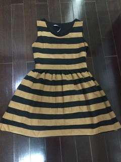 Dress garis2 size S
