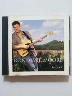 CD Ron David Moore - Shape of Your Heart