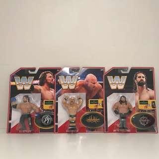 *$25 Each* WWE Retro Series 3 Figures