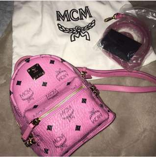 VGC Preloved Authentic MCM Mini Beeboo Pink