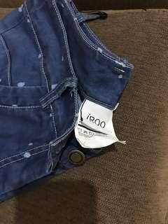 🚚 iROO牛仔褲