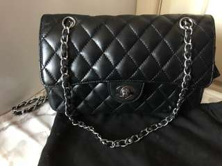 Chanel inspired double chain bag