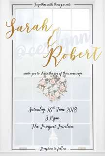 Invitation Card Customisation - 2