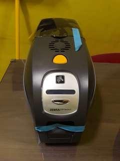 Printer id card zebra series 3 zxp3