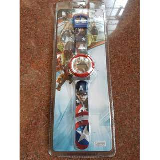 MARVEL Graphic Watch & Fashion Girls Necklace