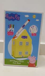 BNIB Peppa Pig house DIY coin bank