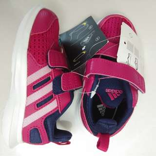 Adidas girls running shoes 小女童波鞋