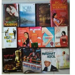 Novel Second 20rban/pcs Masih Bagus dan Halamn Lengkap