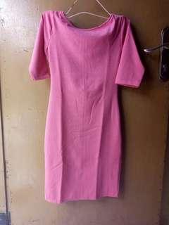 Bodycon dress pink