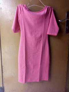 Bodycon dress pink