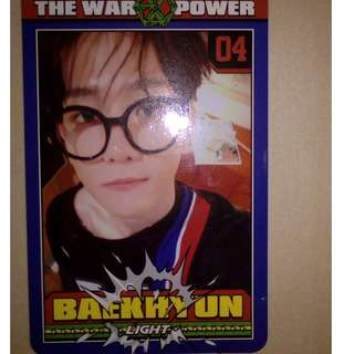 Baekhyun Power Photocard pc