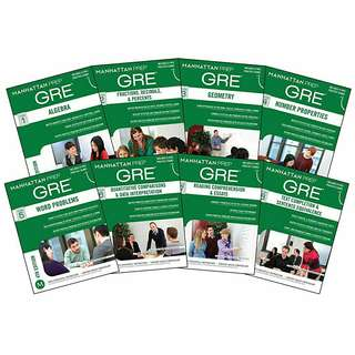 (Brand New) Manhattan Prep GRE Complete Strategy Guides 4th Edition