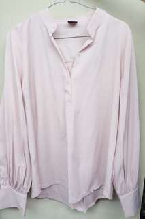 Magnolia baby pink blouse