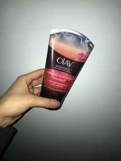 Olay exfoliating cleanser