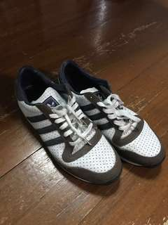 Adidas White Rubber shoes Size 11