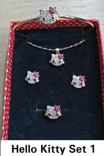 HELLO KITTY JEWELLERY AND ACCESSORIES