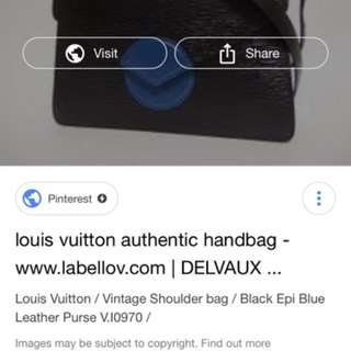 vintage epi loius vuitton bag