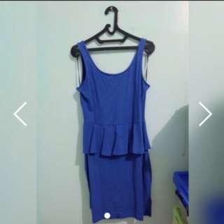Blue P Plum dress pesta