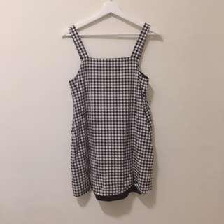 🚚 Pazzo黑白格子洋裝