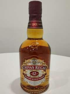 全新 CHIVAS 芝華士 12年 蘇格蘭 威士忌 中國版 500ml