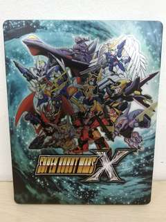 (Brand New) Super Robot Wars X Steel Case