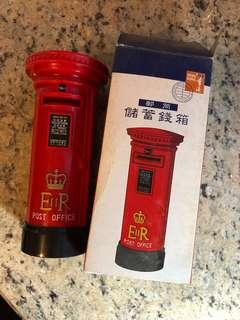 全新皇家香港郵筒錢箱