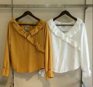 Korean top yellow