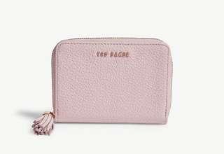 (2色)TED BAKER Sabel grained leather small purse