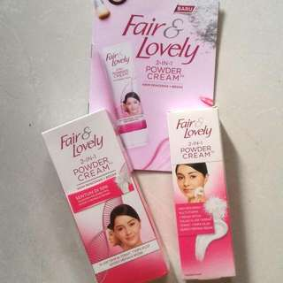 Fair&Lovely 2-1 Powder Cream 1 Bundle (20&40 Gram)