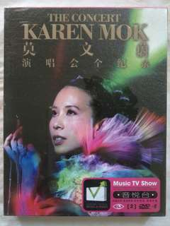 [Music Empire] 莫文蔚 Karen Mok- 《演唱会 全记录》Concert DVD