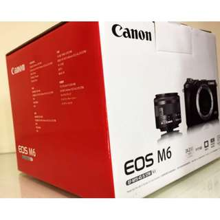Canon EOS M6 With Lens 15-45MM