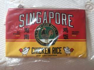 🚚 Singapore Hainanese chicken rice Design pouch/pencil case