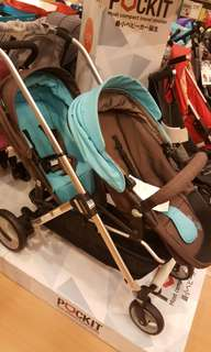 Double tandem stroller