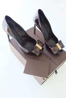LV Open Toe Heels