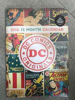 2016 12 Month Calendar