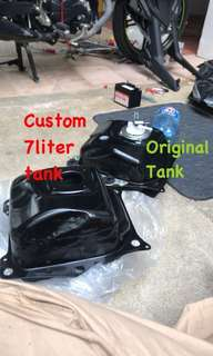 Yamaha Custom 7 litre Tank Sniper /y15zr /exciter /mxking