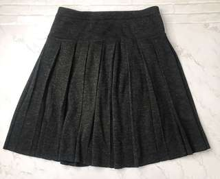 🚚 法國 Jeanne Pierre 羊毛百褶裙