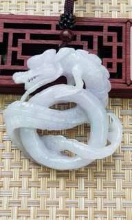 🚚 Grade A 3D Lavender Jadeite dragon