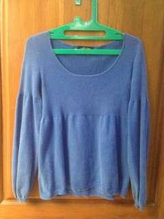 Sweater Biru