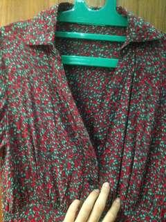 Dress merah Body and soul