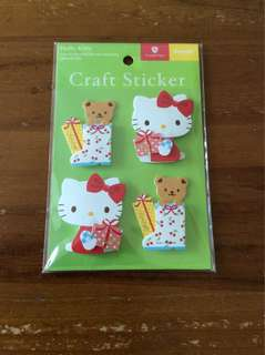 BN Sanrio Hello Kitty craft stickers