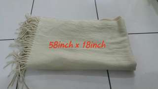 Soft beige shawl