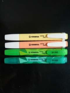 STABILO HIGHLIGHTER SWING COOL
