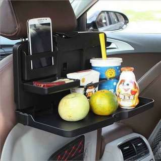 Car foLding dining tabLe