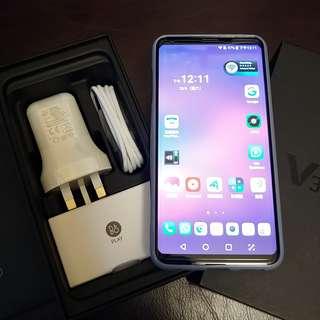 98% 新 LG V30+ Thin Q 128GB 銀紫色香港行貨保養至4/1/2019 全新配件,B & O耳筒火牛义电線 購自電訊數碼 已由 $3800減价