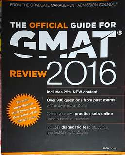 Gmat official guide